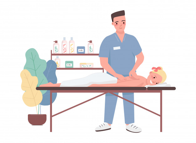 massage-flat-color-characters-spa-treatment-for-young-caucasian-woman-male-professional-masseur-female-client-relax-on-bed-beauty-salon-procedure-isolated-cartoon-illustration_151150-639